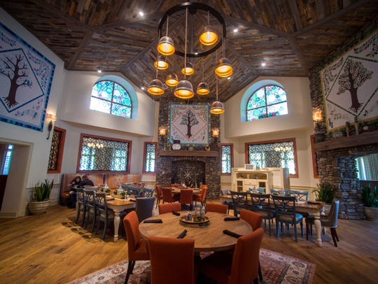 Song & Hearth is a sit-down restaurant at Dollywood's