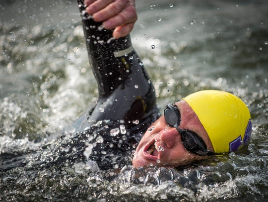 Dr. Andreas Fath, world-record-holding endurance swimmer