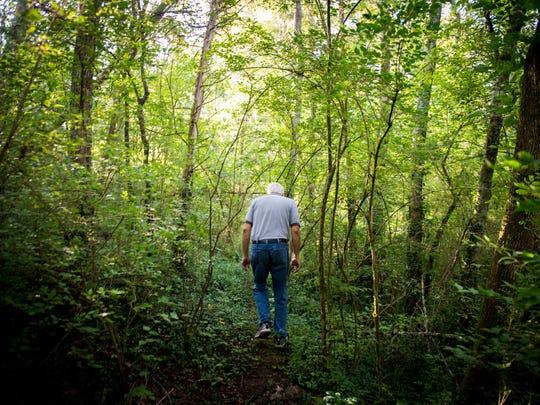 Tim Bigelow, treasurer for the Smoky Mountain Hiking