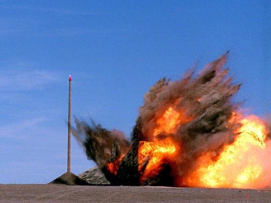 Tomahawk Strikes Surface Target