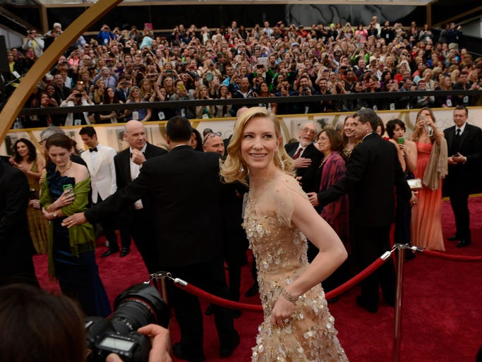 "Cate Blanchett arrived at the Academy Awards as the heavy favorite, and eventual winner, for the best-actress Oscar for her performance in ""Blue Jasmine."""