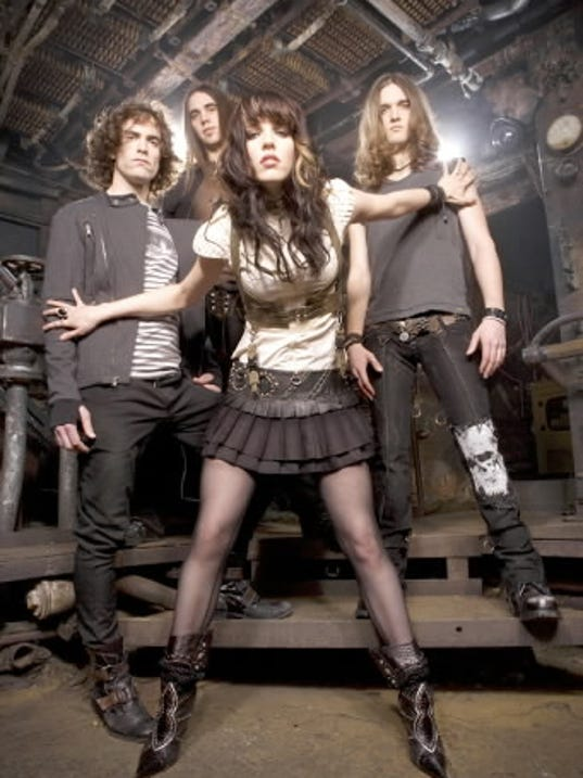 Red Lion act Halestorm releases its first CD with Atlantic Records Tuesday.