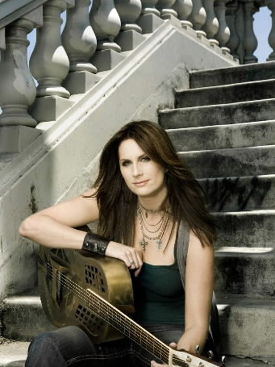 Terri Clark performs 'Unplugged and Alone' at the Whitaker Center Oct. 29.