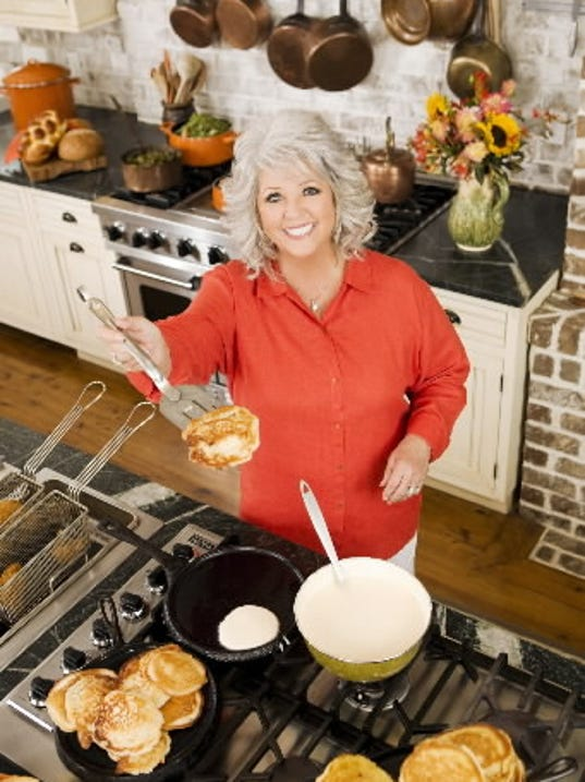 Food Network star Paula Deen will visit an area food bank and Hershey Theatre Friday, Sept. 30.