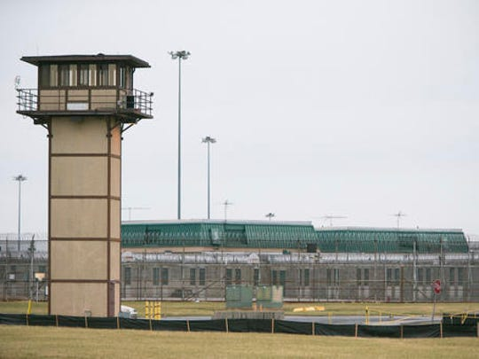 Vaughn Correctional Center near Smyrna, Del., remains on lockdown following a disturbance on Wednesday, Feb. 1, 2017.  Geoffrey Klopp, president of the Correctional Officers Association of Delaware, said he had been told by the Department of Correction commissioner that prison guards had been taken hostage at the James T. Vaughn Correctional Center in Smyrna.
