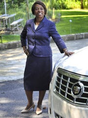 Style Setter Denise Stokes at her home near Hartly. GARY EMEIGH/SPECIAL TO THE NEWS JOURNAL