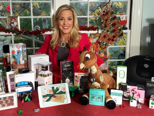 Jennifer Jolly with tech gifts for women.