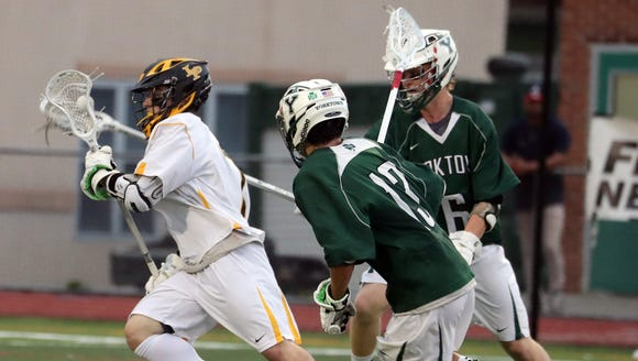 Yorktown defeated Lakeland-Panas 17-3 in the 29th annual