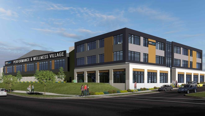 The Midwest Orthopedic Specialty Hospital has been named as the anchor tenant for the MOSH Performance and Wellness Village at Ballpark Commons. They also were granted naming rights.