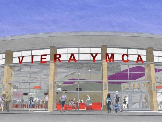 Viera YMCA concept drawing.