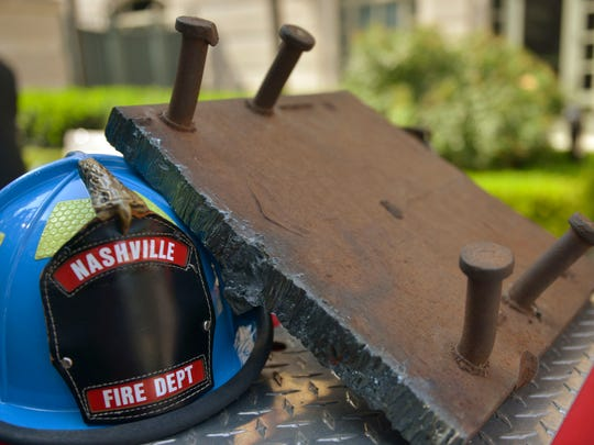 The Nashville Fire Department unveils a part of the