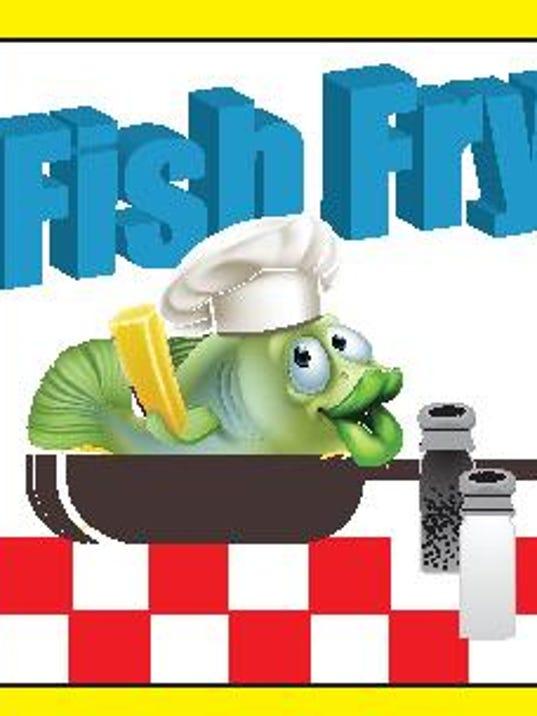 fish fry icon .eps