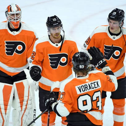 The Flyers have won five straight, in part because