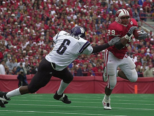 Wisconsin tailback Michael Bennett rushed for 293 yards