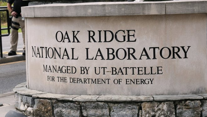 Entrance to the Oak Ridge National Laboratory.