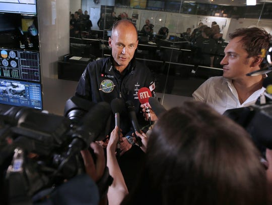 Bertrand Piccard, one of the pilots of Solar Impulse