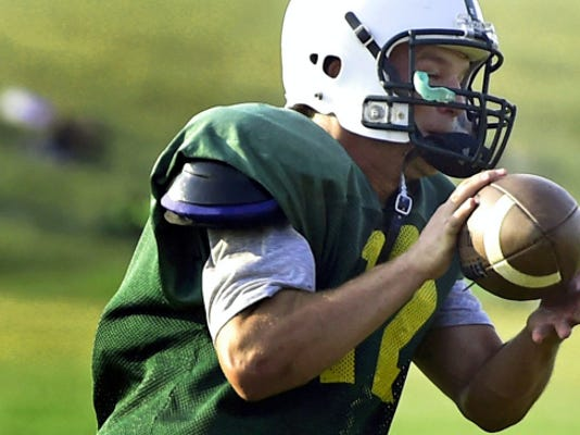James Buchanan's Dillon Sanders is returning from an injury that sidelined him for half of the season last year. Sanders will once again be the starting quarterback for the Rockets.