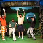 "Patrick Loos, Brandon Grantz, Patrick O'Connor Cronin and Andrew Papa in ""The Foursome."""