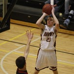 Senior guard Conor Riordan averaged a team-high 13.5 points per game in leading Ankeny to a 10-13 record last season. He was selected the Hawks' Most Valuable Player for the second straight year.