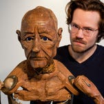 Puppetry-artist Jesse Mooney-Bullock