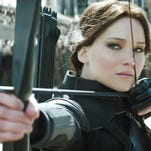 "Jennifer Lawrence stars in ""The Hunger Games: Mockingjay Part 2."""