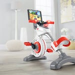 Fisher-Price makes exercise fun with stationary bike for kids
