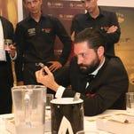 Brentwood entrepreneur Darren Cioffi won the 2014 Cigar Smoking World Championship in Croatia.