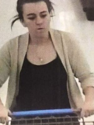 Police are looking for the identity of this woman, suspected of retail theft at the Walmart in Springettsbury Township.