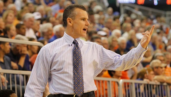 Coach Billy Donovan and the Florida Gators host Florida State on Friday.