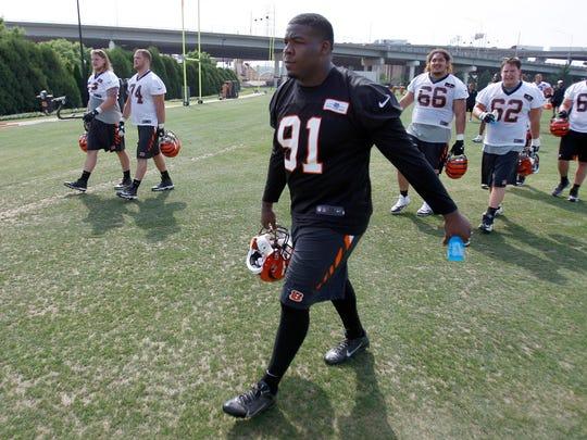 Cincinnati Bengals fourth-round pick defensive tackle