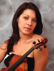 Yennifer Correia didn't want to check her centuries-old violin.