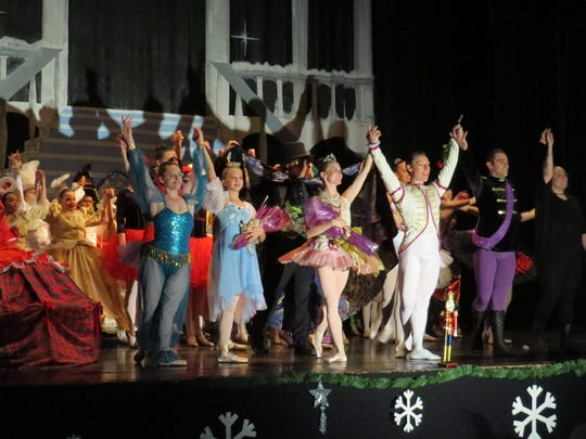 "Through a Child's Eyes Foundation's ""The Nutcracker"" cast gives its curtain call Saturday night."
