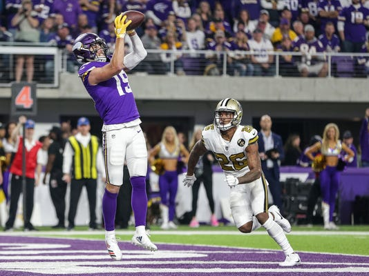 NFL: New Orleans Saints at Minnesota Vikings