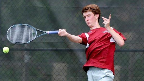 Asheville High's Ryan Roegner.
