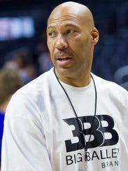 Lavar Ball and President Trump have engaged in a war