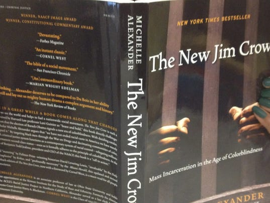 "The New Jim Crow""... Police Lights In Rear View Mirror"
