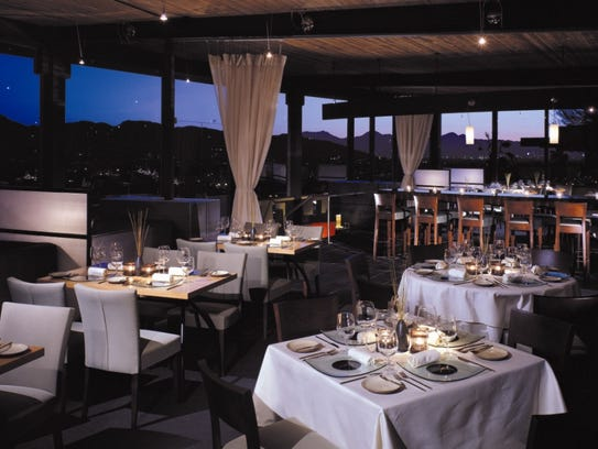 Elements dining room at Sanctuary Camelback Mountain