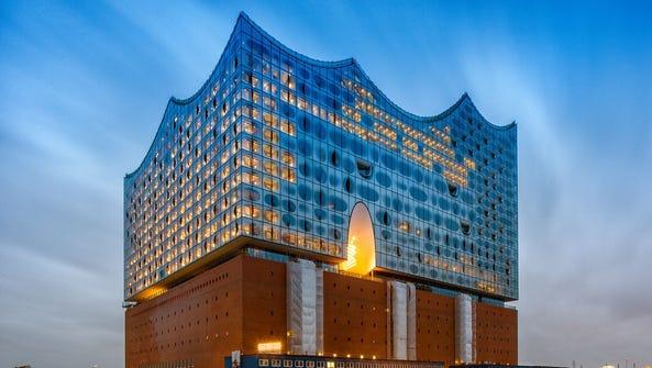 Hamburg's glittering Elbphilharmonie was designed by