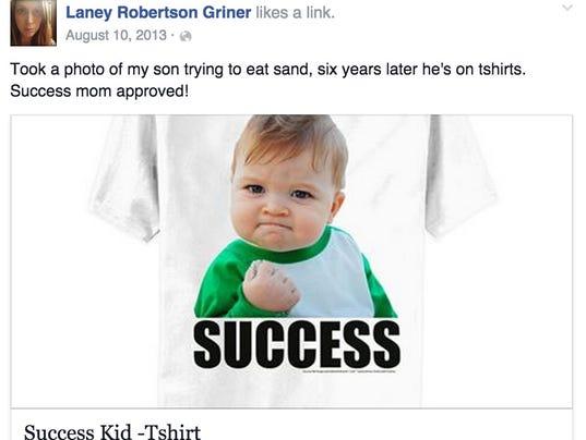 'Success Kid' boy raises $90K for dad's kidney