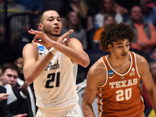 NCAA Basketball: NCAA Tournament-First Round-Texas vs Nevada