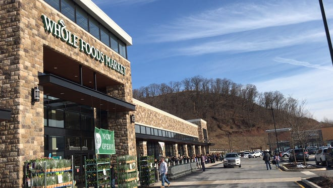 About 250 customers welcomed Whole Foods to Bridgewater on Friday.