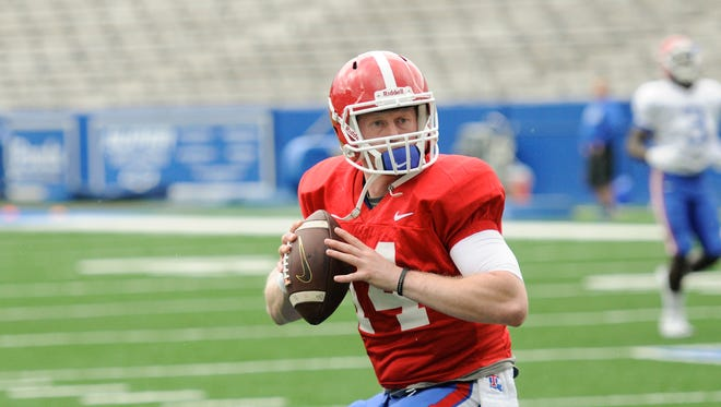 Ryan Higgins is expected to be the starting quarterback at Louisiana Tech.