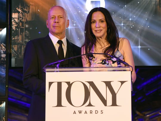 Actors Bruce Willis and Mary-Louise Parker co-host