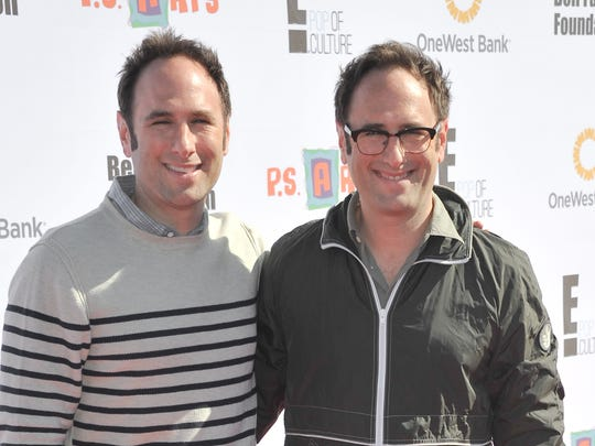 Randy Sklar, left, and Jason Sklar will bring their comedy show to Bloomington.