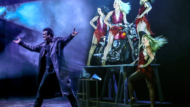Illusionist Rick Thomas will bring his world-famous show to the Southwest Florida Performing Arts Center at 7:30 p.m. Tuesday.