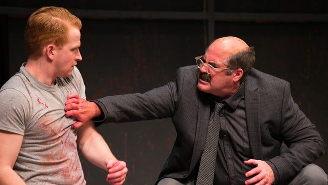 John Ford-Dunker as Ken and Stephen Caffrey as Mark Rothko.