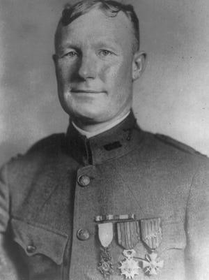 Samuel Woodfill, World War I soldier from Bryantsburg, IN.
