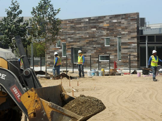 Construction is in full swing at the Rio Del Sol School