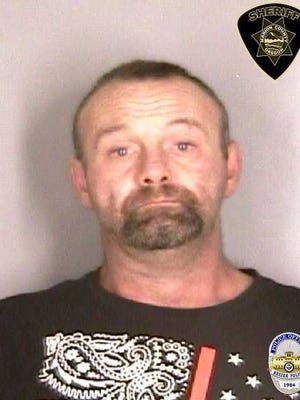 John Albert Herriges, 40, was arrested in connection with a series of crimes that occurred at local coffee businesses in Keizer. He was taken into custody on Monday, Dec. 11, 2017.
