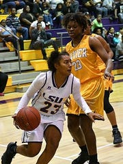 LSUS guard Courtney Randle leads the Pilots in scoring.